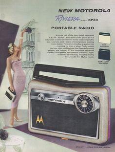 50s Motorola Riviera radio