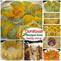 Χριστουγεννιατικος μπουφες απο το daddycool!Εδω θα βρειτε τα παντα! Christmas Cooking, Christmas Recipes, Muffin, Daddy, Xmas, Menu, Cookies, Breakfast, Foods