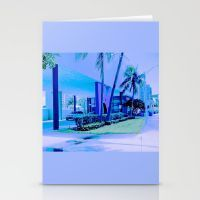 Stationery Cards featuring Swimming Hall Of Fame, F… by Gloria Larravide