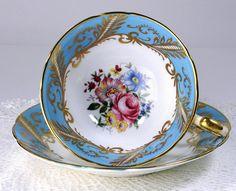 Vintage Cups, Vintage China, China Tea Sets, Teapots And Cups, Tea Service, Or Antique, Antique Tea Cups, Tea Cup Saucer, Chocolate