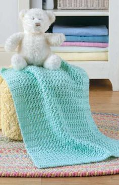 Skill Level: Easy These little blankets are just right for keeping little legs warm when you are on the move with Baby! All the designs are easy to crochet, a nd the same pattern can be used to make s