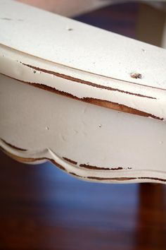 Glazing Tutorial...for restoring furniture