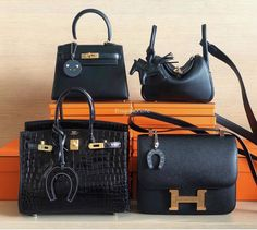 Hermès Black Bags in Every Price Range - PurseBop Hermes Bags, Hermes Birkin, Luxury Marketing, Black Bags, Good News, Color Pop, Range, Take That, Pairs