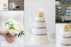 Hochzeitstorte  ..... Wedding Cake Petra, Vanilla Cake, Wedding Cakes, Desserts, Food, Pies, Wedding Gown Cakes, Tailgate Desserts, Deserts