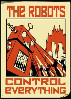 The Robots. I like used font, that is suitable for robotic design ;)
