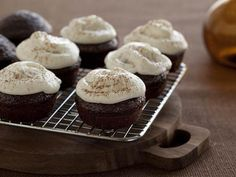 Chocolate Stout Cupcakes with a Healthy Twist www.farmfoodieandfitness.com    photo credit: www.foodnetwork.com
