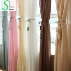 [Slow Soul] New Hotel Decoration Window Thickened Yarn Cortinas Living Room Drapes Tulle curtains Tulle Curtains Curtain Sheer-in Curtains from Home & Garden on Aliexpress.com | Alibaba Group