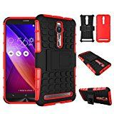 Generic Good Design Pu+tpu Back Shell Phone Cases for Asus Zenfone 2 Ze551ml 5.5 Inch with Tyre Stripe Design