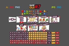 Game GUI #7 by yurakr on @creativemarket