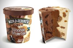 Experience an orgasm in your mouth when you dig into a pint of center core flavored ice cream. Apart from the deliciousness provided by the main ice cream, your taste buds will be gifted with an extra burst of flavor found in the center core of each pint. Ice Cream Flavors List, Flavor Ice, Fudge Ice Cream, Ice Cream Tubs, Yummy Treats, Sweet Treats, Yummy Food, Ben Et Jerrys, Comida Disney