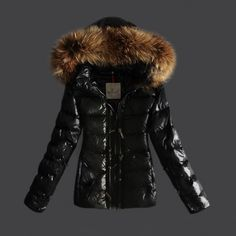 moncler black womens jacket