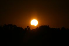 Skywatcher Ed Burczyk captured this photo of a partial solar eclipse from Tampa Bay, Fla., during the rare hybrid solar eclipse of Nov. 3, 2013.