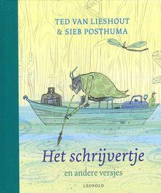 Het schrijvertje - Ted Van Lieshout, Sieb Posthuma Inspire Me, Childrens Books, Books To Read, Writer, Reading, Illustration, Merry Christmas, Inspirational, Livres