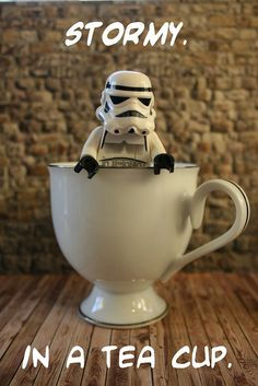 Lego Star Wars - Stormtrooper in a Tea Cup - Storm in a Tea Cup.