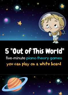 How to Teach Piano Theory on a White Board; 5 Games That Fill Those Final Five Minutes
