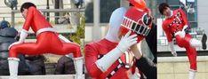 Kamen Rider, Power Rangers, Gears, Ronald Mcdonald, Scene, Actors, Suits, Superhero, Fictional Characters