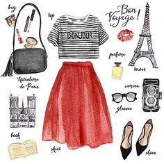 Becoming a Parisian: How to Dress & Pack for Paris (WORLD OF WANDERLUST)