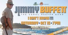 Jimmy Buffett & The Coral Reefer Band - http://fullofevents.com/lasvegas/event/jimmy-buffett-the-coral-reefer-band/