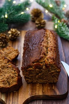 Gluten Free Christmas Recipes, Patisserie Sans Gluten, Healthy Food Alternatives, Gluten Free Gingerbread, Foie Gras, Vegan Sweets, Vegan Vegetarian, Vegan Recipes, Brunch