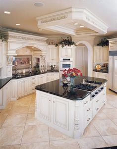 I would replace the dark granite with light marble....otherwise....BEAUTIFUL!