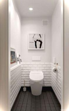 Luxury Black and White Bathroom Ideas 42