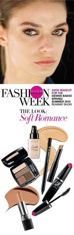 See which #AvonMakeup products Avon Celebrity Makeup Artist @jamiemakeup used to create the look for Dennis Basso's Spring 2015 runway show at #NYFW.