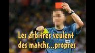 Coupe du Monde - Les arbitres veulent des matchs propres - Avez vous remarquez que les arbitres, de cette Coupe du Monde de foot 2014 voulaient des matchs propres ? Erick BERNARD lui......l'a bien remarqué. Explication !!