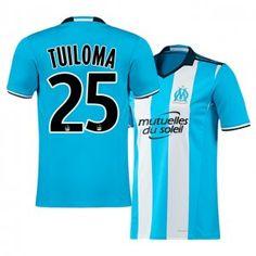 Marseille Third 16-17 Season Blue #25 TUILOMA Soccer Jersey [I167]