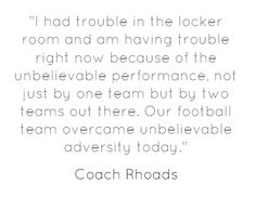 Coach Rhoads quoted on www.cyclones.com after defeating Iowa in 3 OT.
