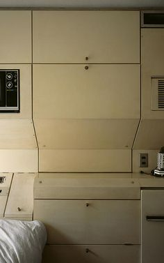"""in Japan, people have been living in the Nakagin Capsule Tower's 100-square-foot housing for decades. there was another moment when tiny, modular apartments were proposed as the future of housing: post-war Japan. That's when a small group of architects came together under the banner of """"Metabolism,"""" whose most notable, lasting work might be the Nakagin Capsule Tower."""