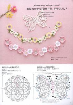 """«Asahi originale del merletto del Crochet Vol4 2013"""" Discussione Silla…"""