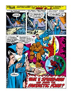 What If? (1977) Issue #1 - Spider-Man joined the Fantastic Four - Read What If? (1977) Issue #1 - Spider-Man joined the Fantastic Four comic online in high quality