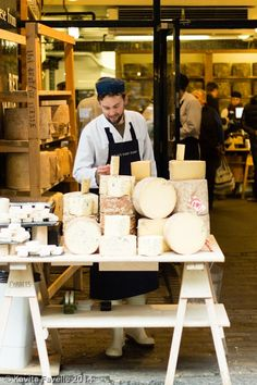 Neal's Yard Dairy -- Recommendations for a Mini City Break in London's Borough Market, Maltby Street Market, Bermondsey & Bankside area