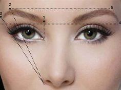 Best makeup tutorial eyebrow shape Ideas Beste Make-up Tutorial Augenbrauenform Ideen Eyebrow Makeup Tips, Beauty Makeup, Eye Makeup, Eyebrow Tinting, Makeup Eyebrows, Makeup Guide, Beauty Tips, Brown Makeup, Eyebrow Pencil