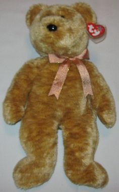 1b092034d6a CASHEW the Brown Bear - Ty Beanie Baby BUDDY (buddies) - 13 inches tall
