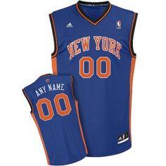 7229efde7 adidas Youth Knicks Custom Revolution 30 Replica Road Jersey New York Knicks