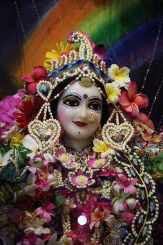 Radhastami flower dress @ ISKCON Vrindavan (108 photos)