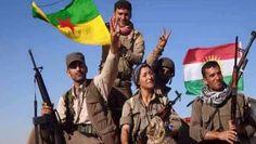 #Kobane is free !! Biji #kurdistan #Peshmarga #YPG #KobaneAzad