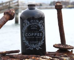 Milton & Small = Water and Coffee. Cold Brew. Med. Roast.
