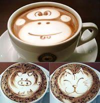 Kunstige koffie met latte art   Rubriek.nl