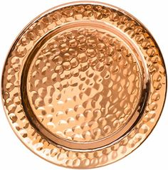 Solid Copper Coasters - Set of 4 Handcrafted Hammered Art...