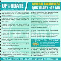 General Awareness #Quizdiary : 02 Jan Subhas Chandra Bose