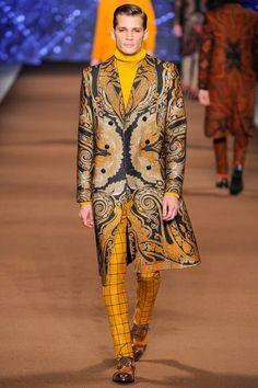 Etro AW14 Menswear, Milan Fashion Week