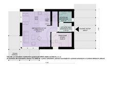 Typový projekt dvoupodlažního rodinného domu o velikosti bytové jednotky 5+kk, je větším rodinným domem vhodný pro rovinatý nebo mírně