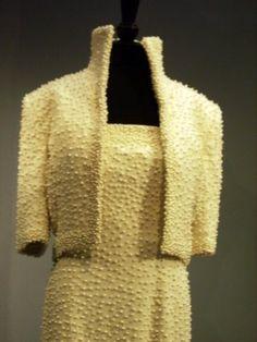 "Princess Diana's ""Elvis"" pearl studded dress"