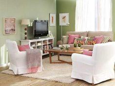 Salas Modernas para Casas Pequeñas