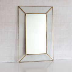 Crystal mirror with metal edge - This week - New Arrivals | Zara Home Norway