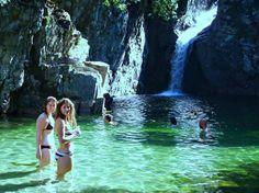 The paradise of northern Greece, Samothraki island! Beautiful World, Beautiful Places, Swimming Holes, Greece Travel, Greek Islands, Cool Photos, Amazing Photos, Travel Destinations, Waterfall