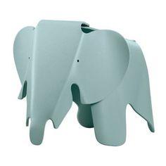Vitra Eames Elephant Kinderstoel Charles & Ray Eames Prijs: € 209,-  Afmetingen: B 35 x D 78,5 x H 41,5 cm Materiaal: Kunststof