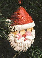Salt Dough Chrismas Ornaments